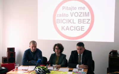 Kaciga za bicikliste nije više obavezna!!!