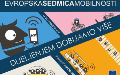Evropska sedmica mobilnosti 2017 – poziv za registraciju
