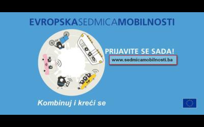 Evropska sedmica mobilnosti 2018 – poziv za registraciju